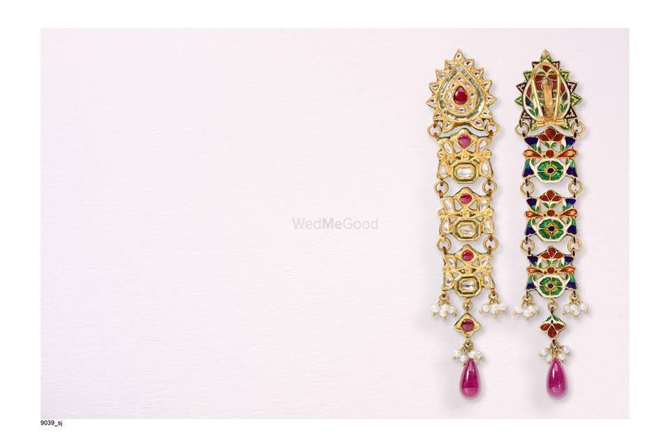 Photo of polki earrings