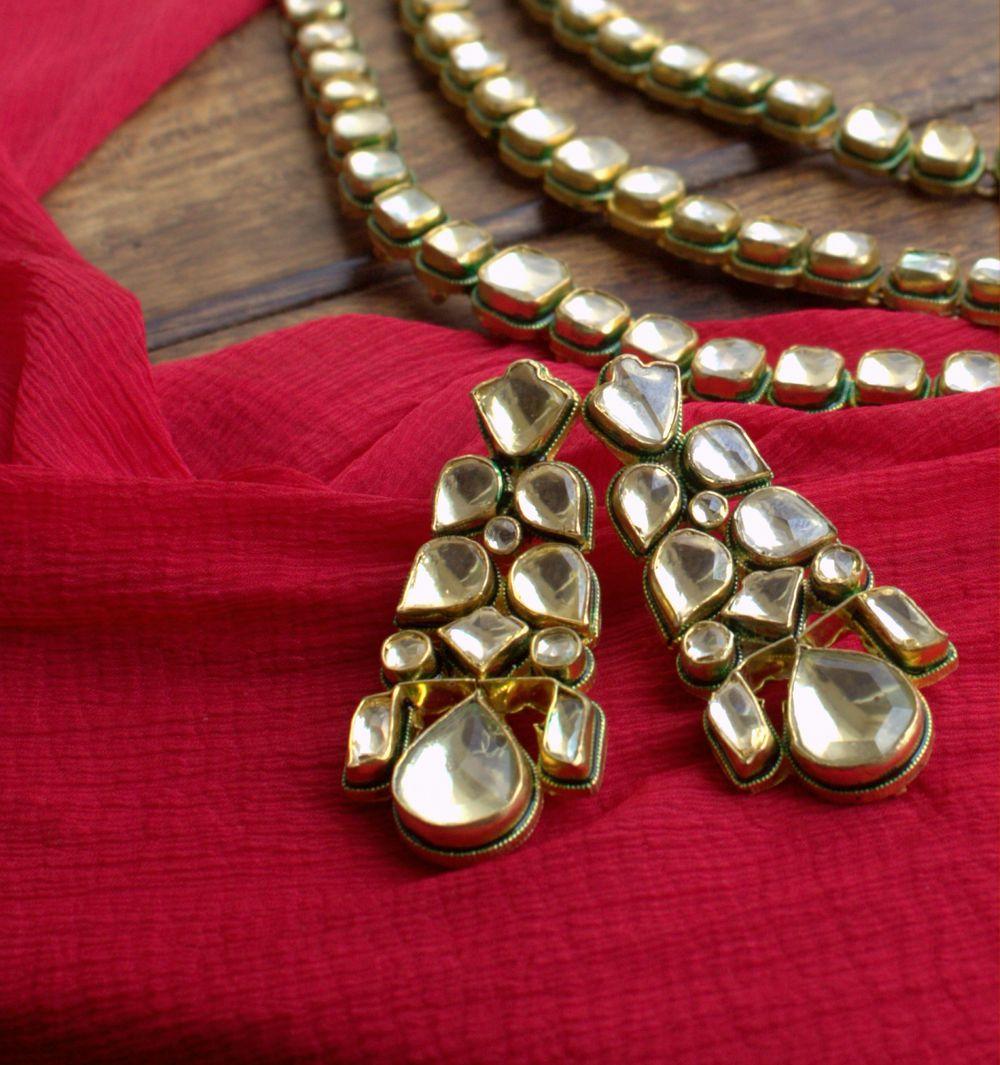 Photo of kundan earrings