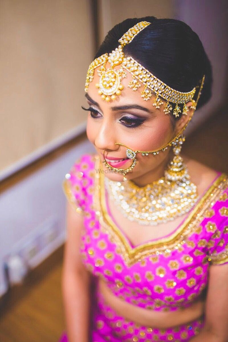 Photo of Soft and subtle makeup for the bride