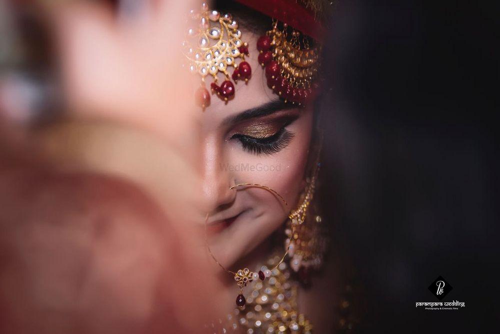 Photo of Shy bride close up shot
