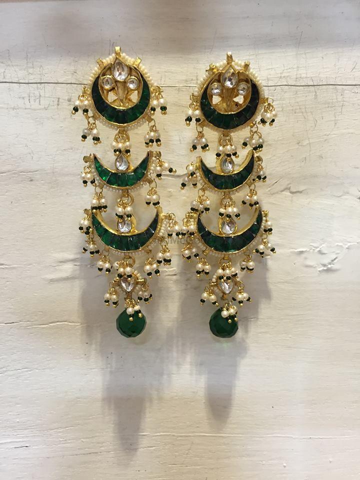 Photo of enamel earrings