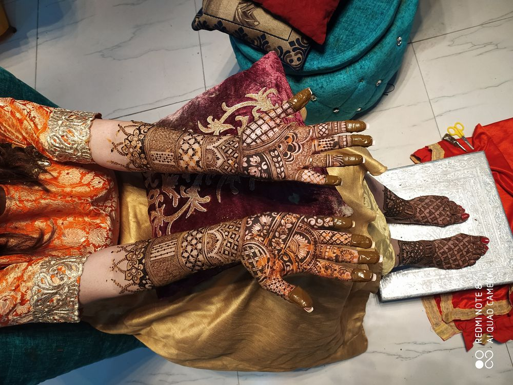 Photo By Jully Mehandi Designer - Mehendi Artist