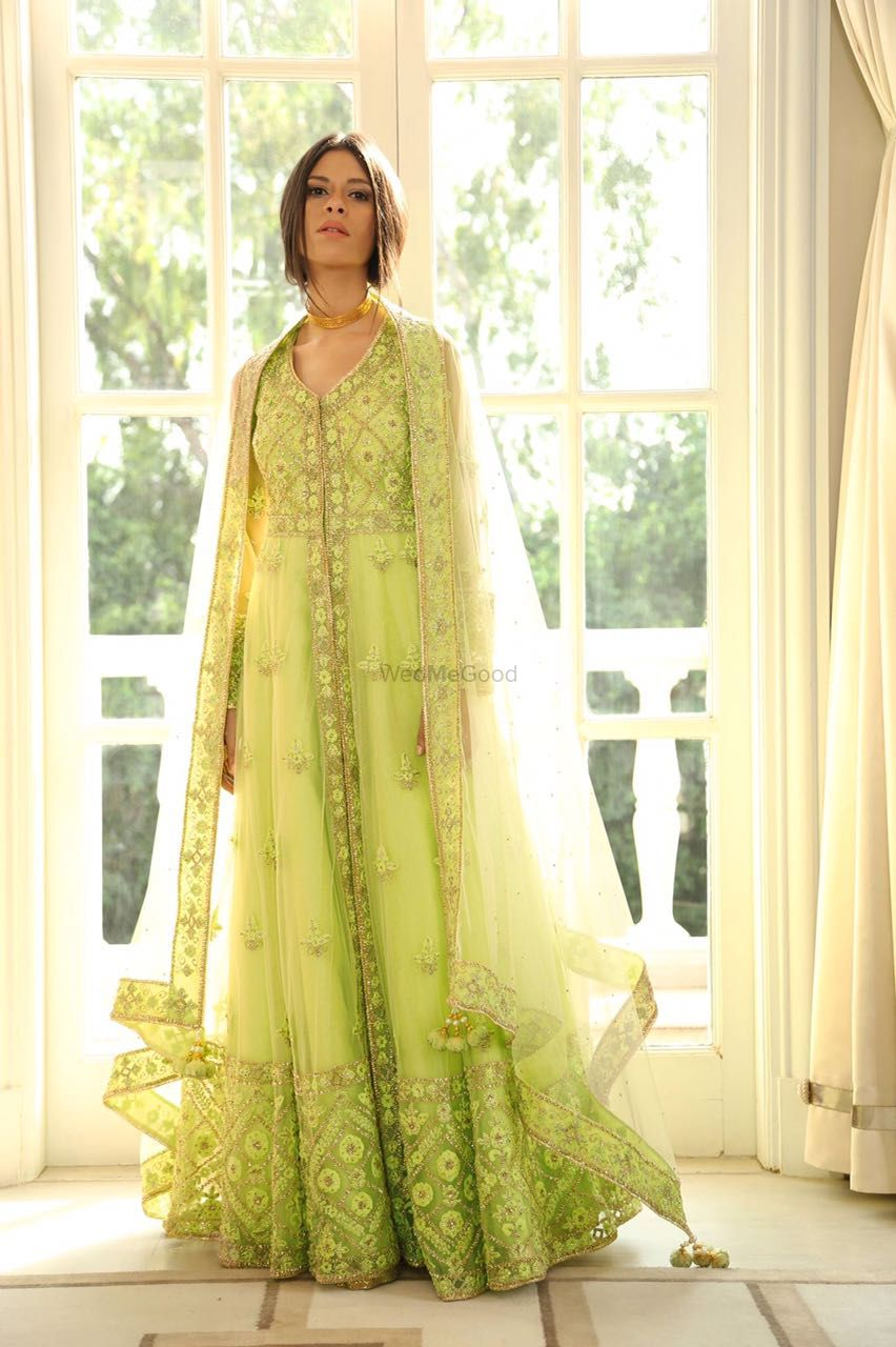 Photo of Lime green anarkali
