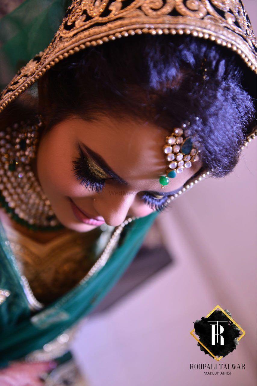 Photo of Beautiful bridal makeup