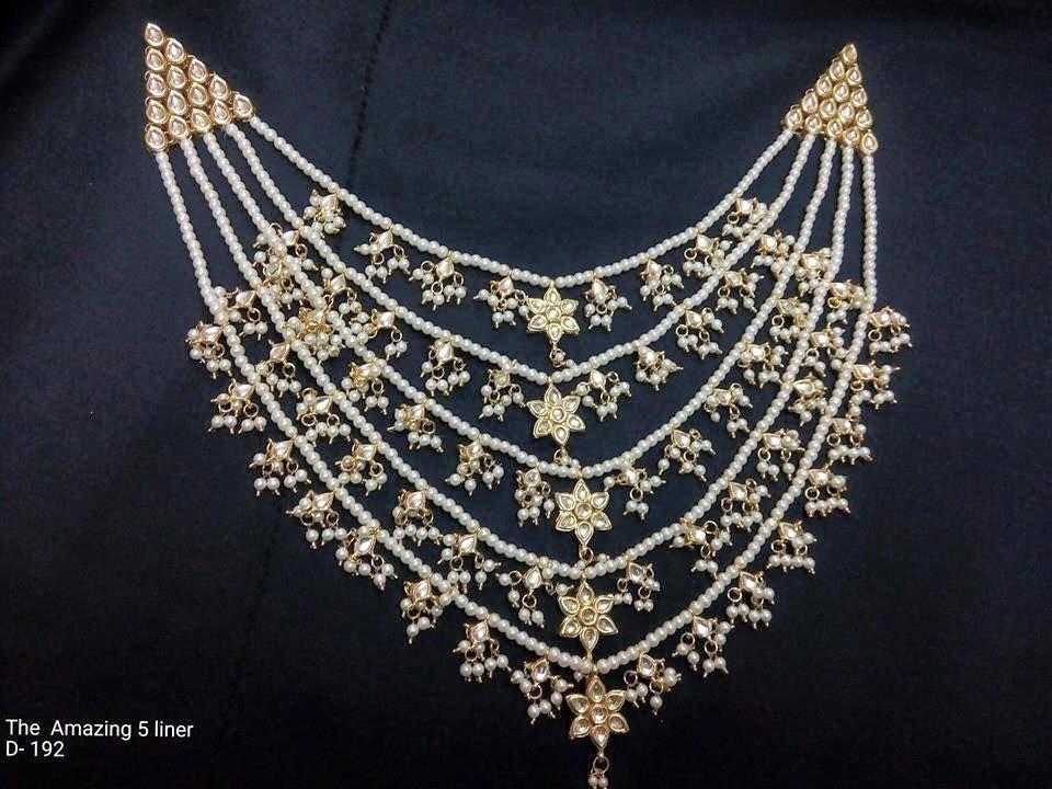 Photo of layered jewellery
