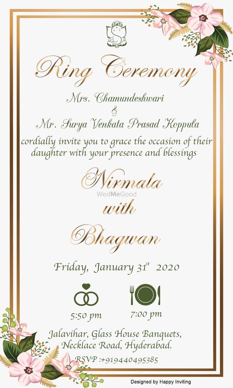 Photo By Happy Inviting - Invitations