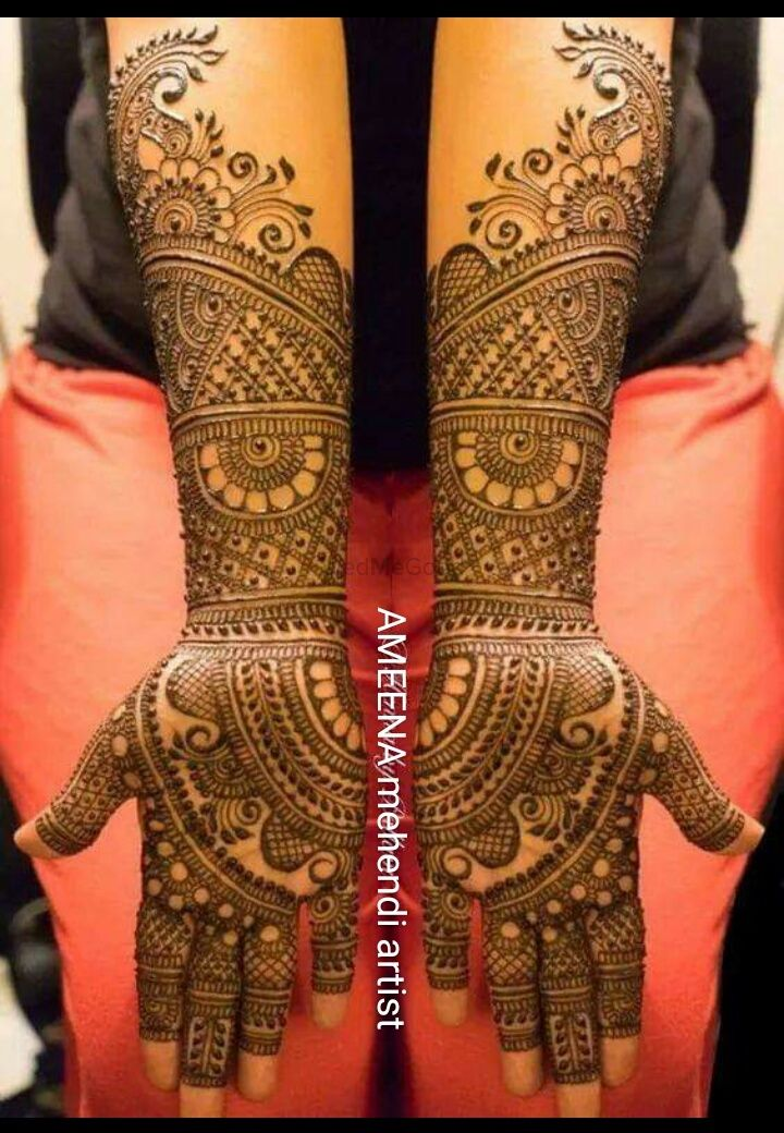 Photo By Ameena Mehendi Artist - Mehendi Artist