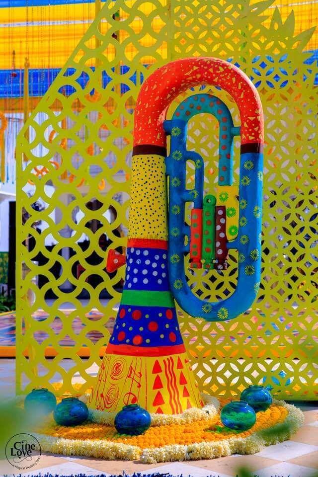 Photo of Mehendi decor idea with something quirky