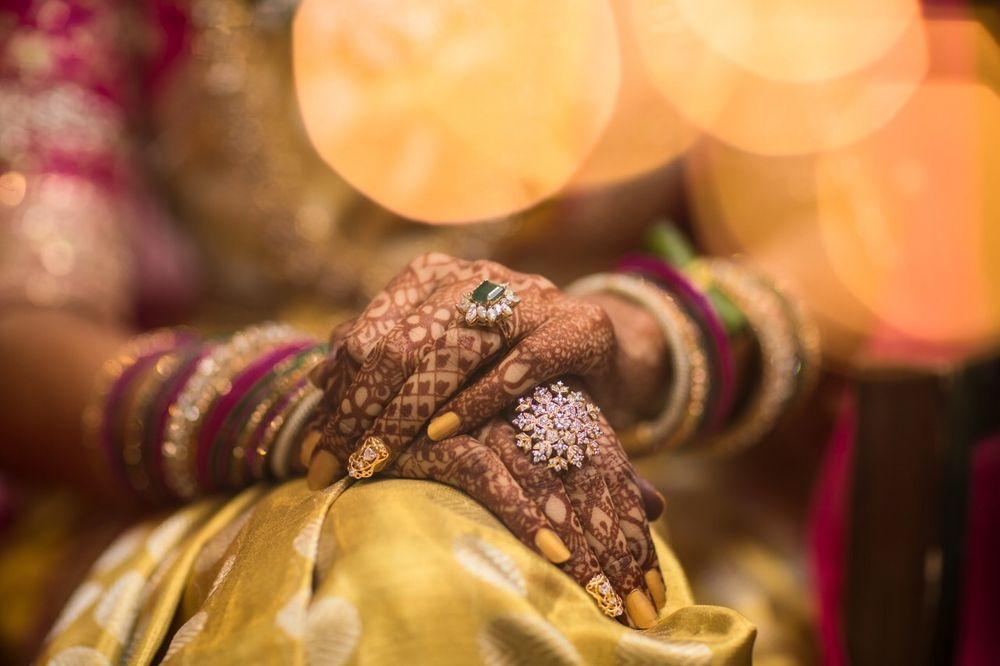Photo of Aesthetically shot mehndi hands