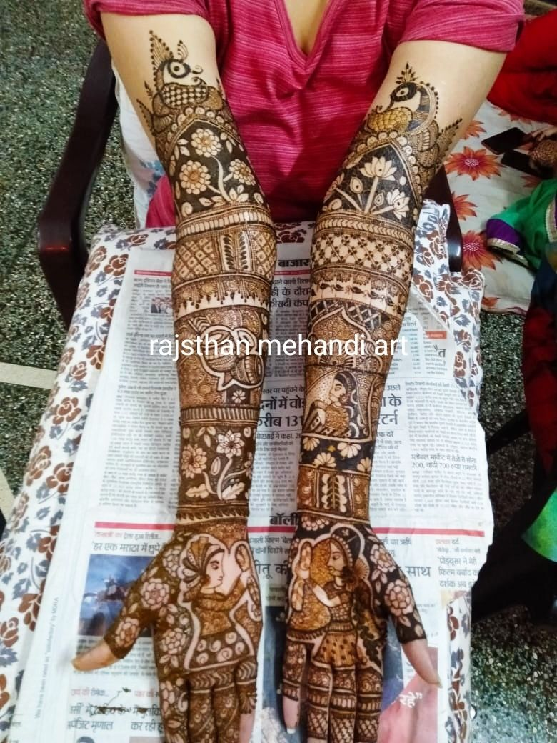 Photo By Rajasthani Mehandi Art - Mehendi Artist