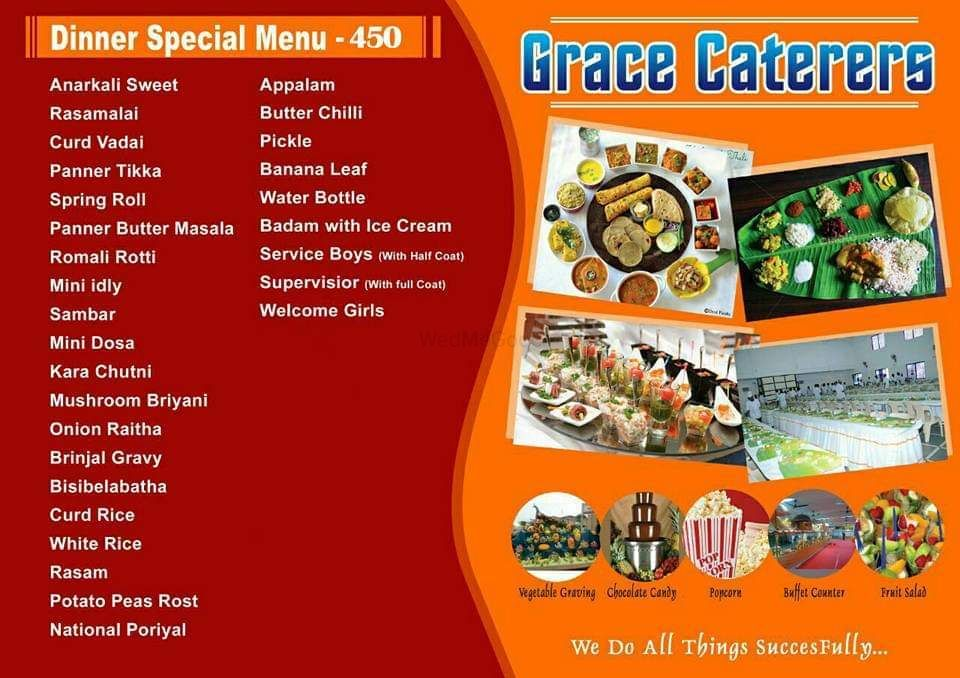 Photo By Grace Caterers - Catering Services