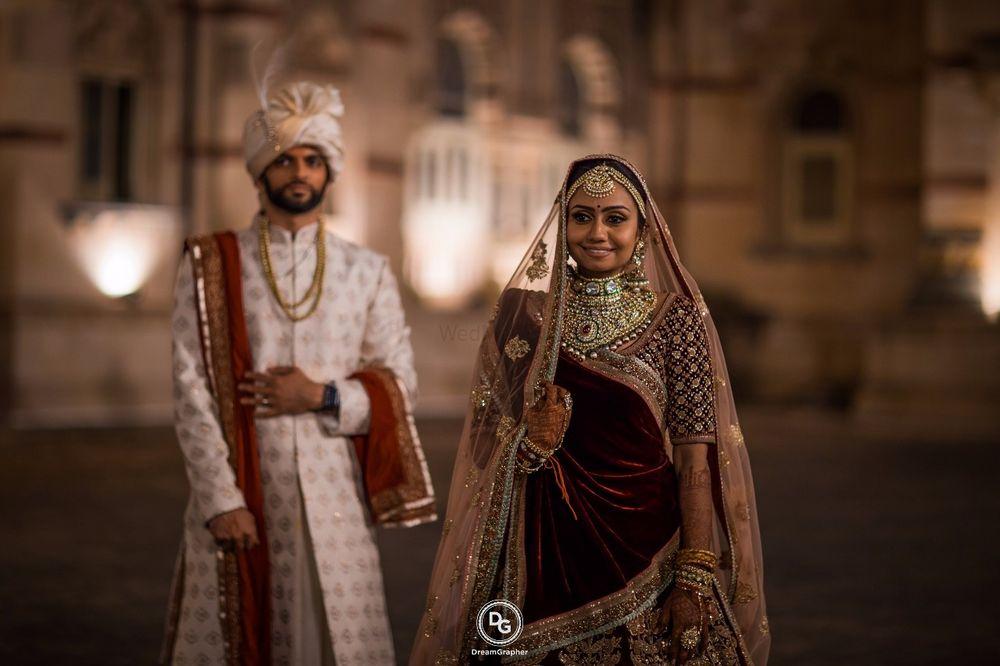 Photo of Magazine style couple portrait