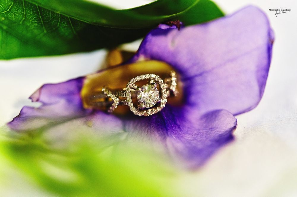 Photo of Halo Setting Solitaire Engagement Ring