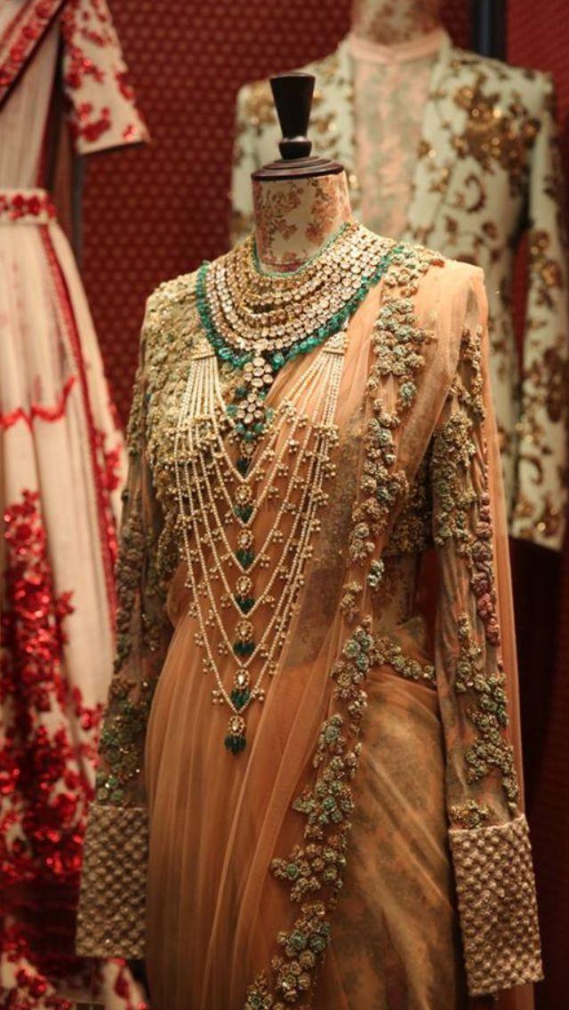 Photo of reception saree