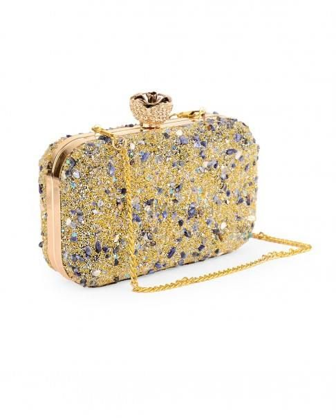 Photo of glitter clutch