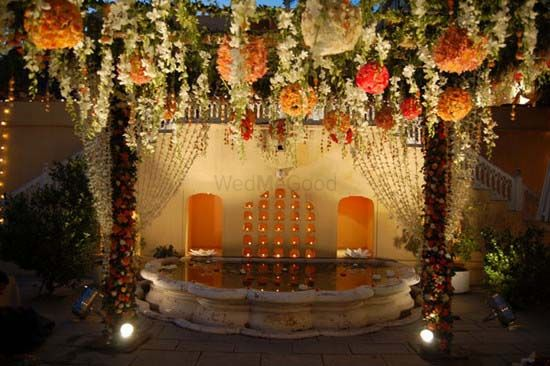 Photo of wedding decorations