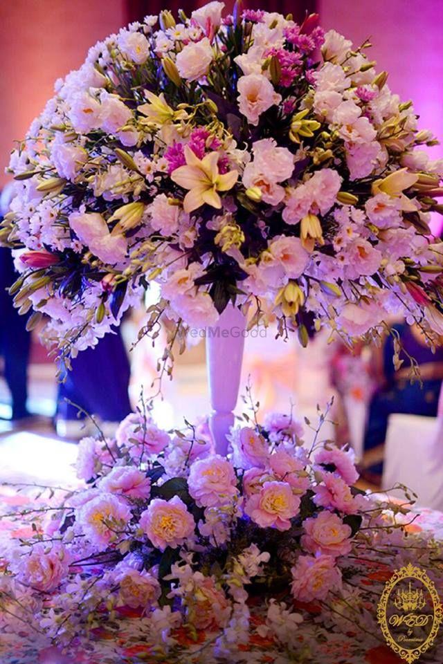 Photo of Statement 2-tier floral centerpiece