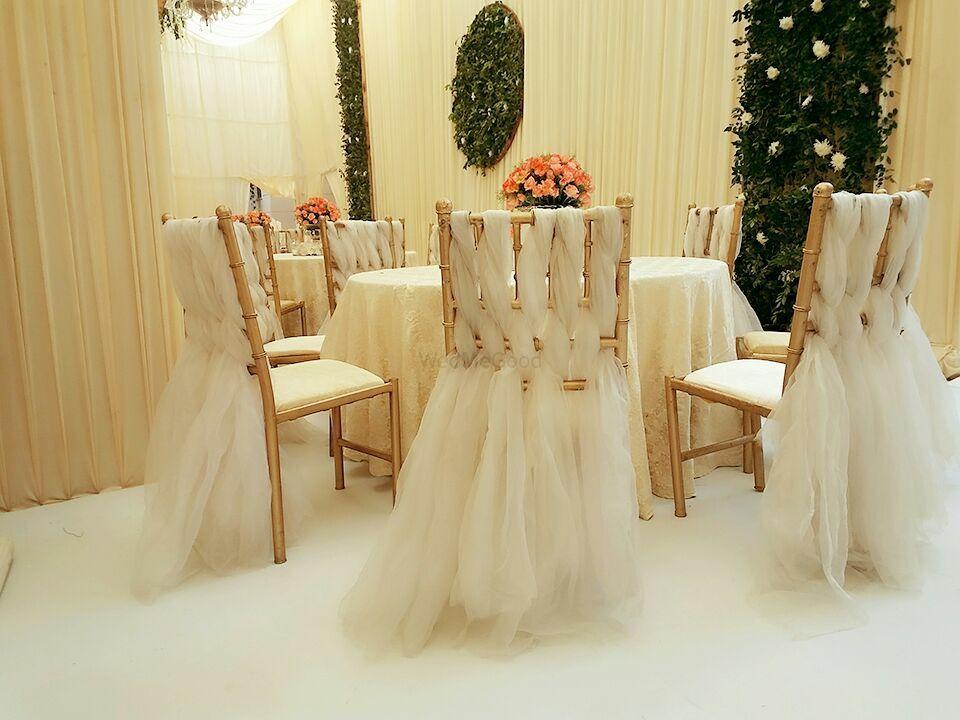 White Wedding Decor Photo white
