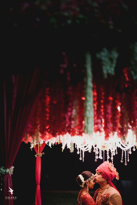 Photo of Beautiful couple portrait under lights