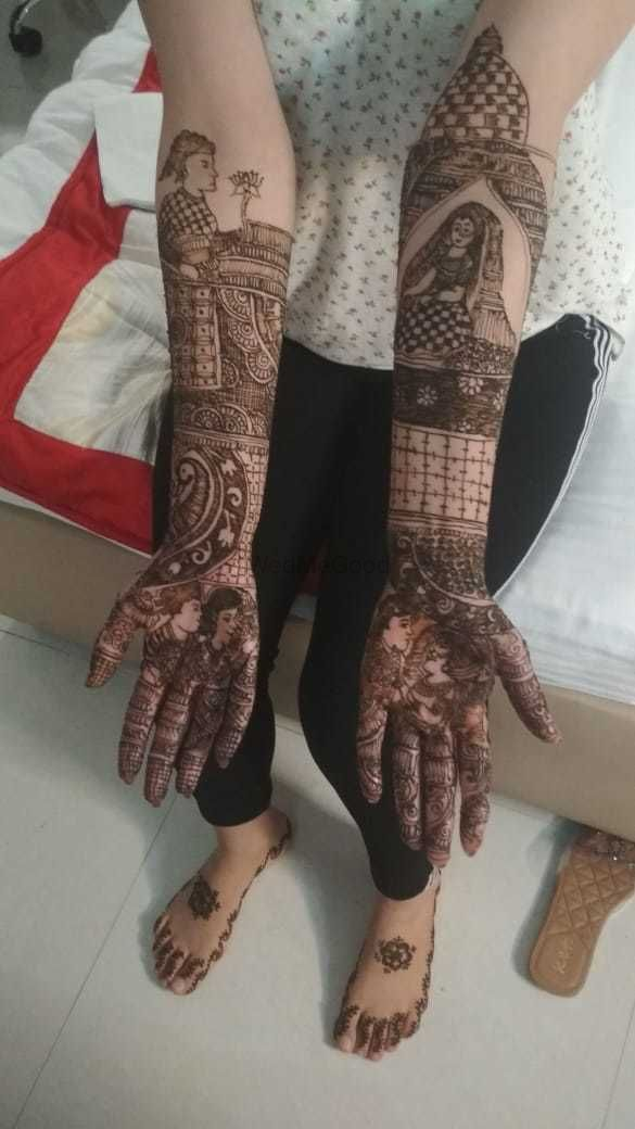Photo From mehndi - By Kajal Beauty Parlour & Herbal Spa