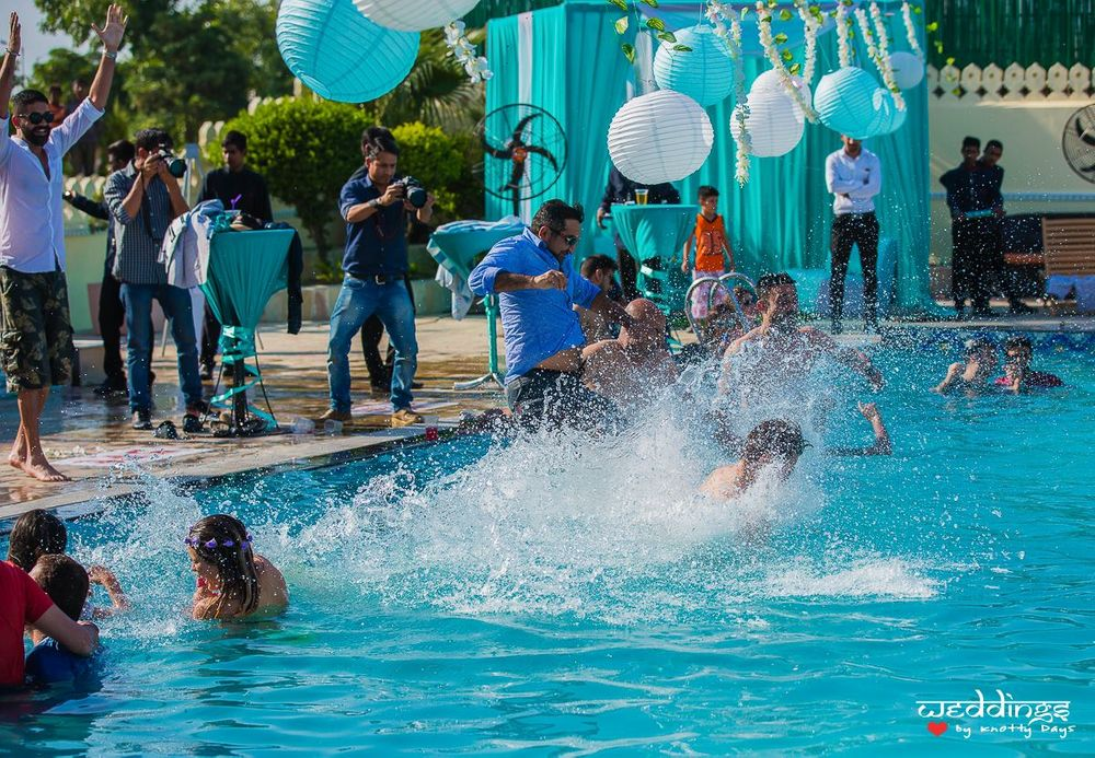 Photo From DNA Pool Party - By Weddings by Knotty Days