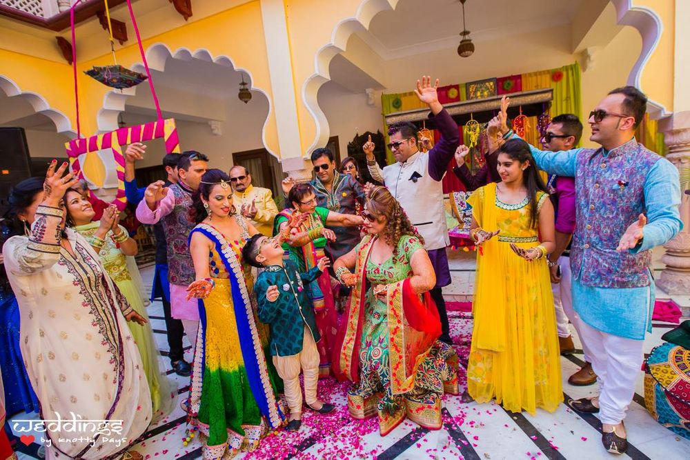 Photo From Mehfil e Mehendi - By Weddings by Knotty Days