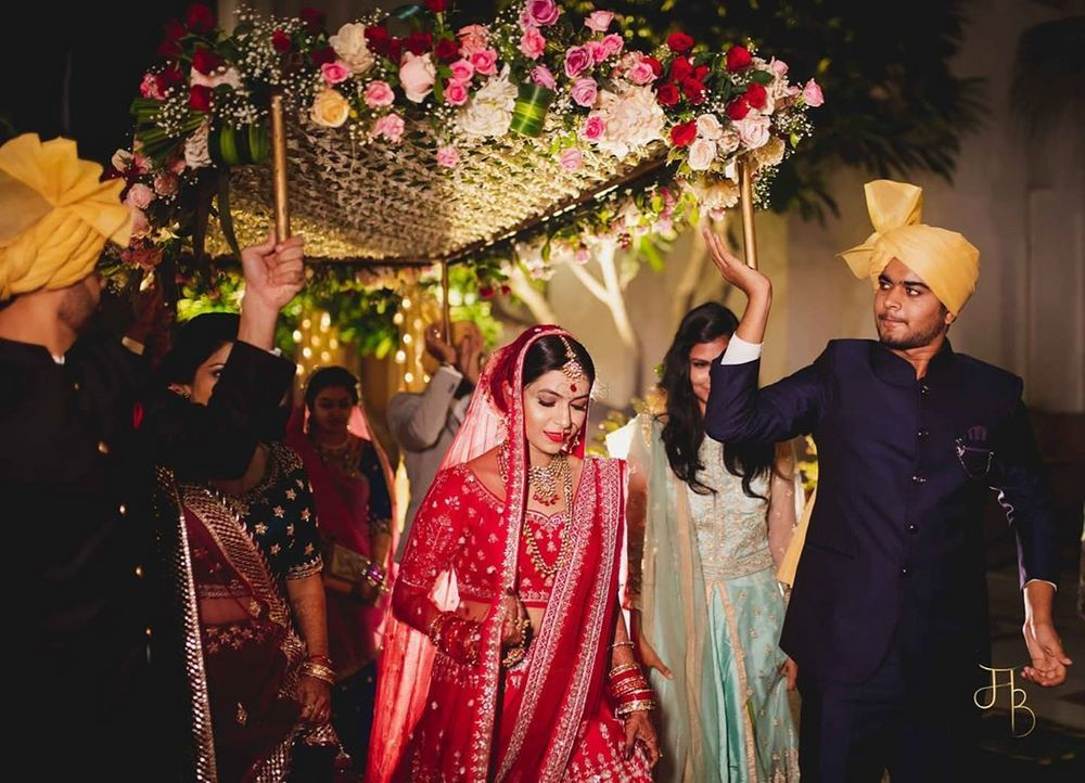Photo of a pretty bridal entry