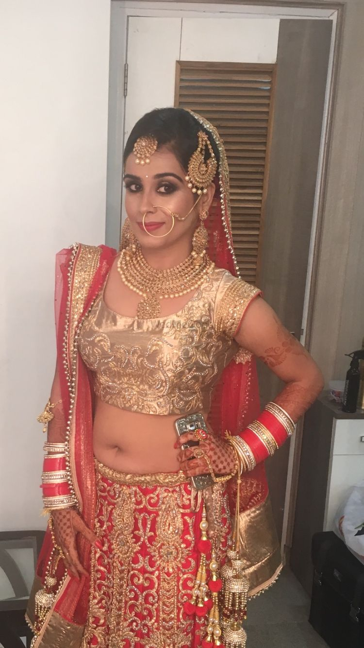 Photo From making of a bride  - By Bridal Makeup by Pooja Sethi
