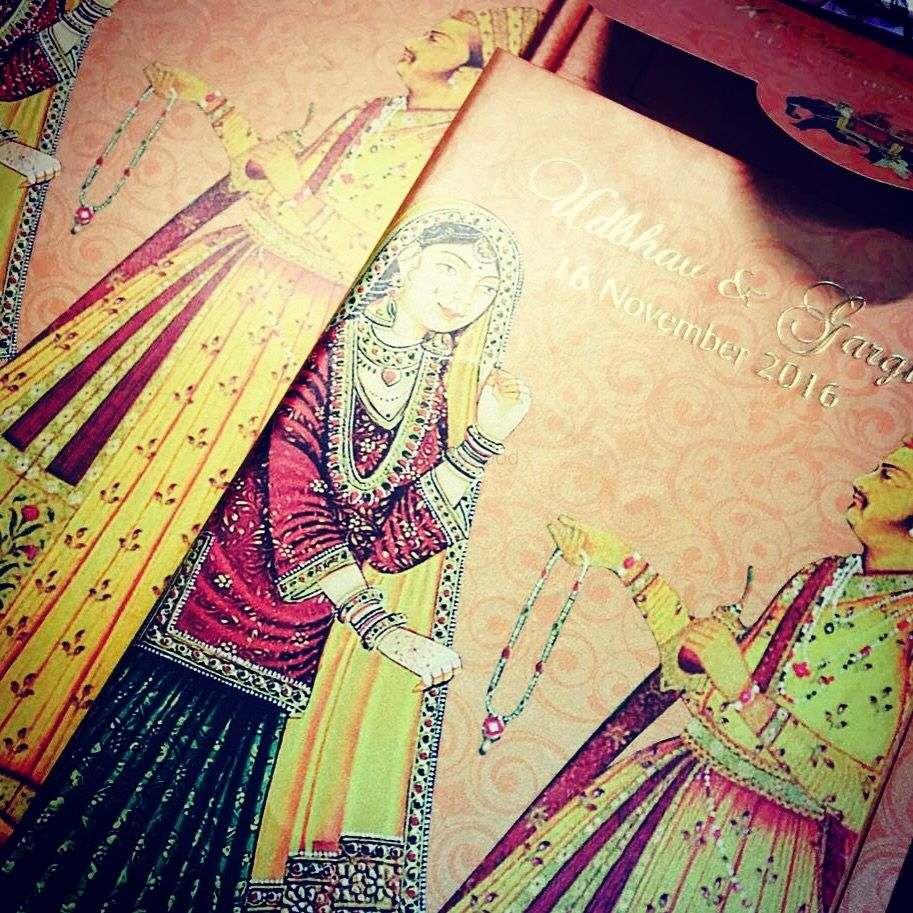 Photo of Wedding invitation card