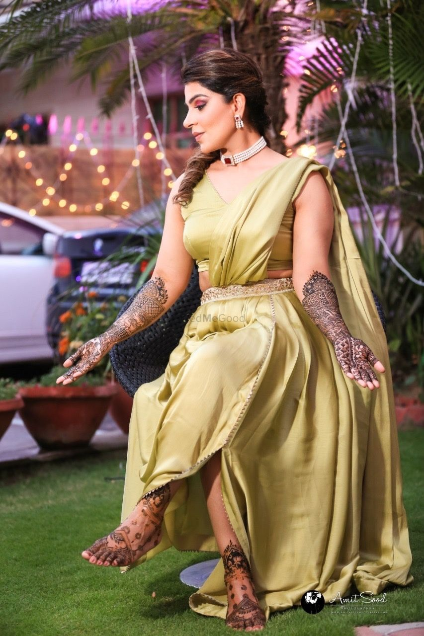 Photo From Shikha's mehendi - By Makeup By Suhani