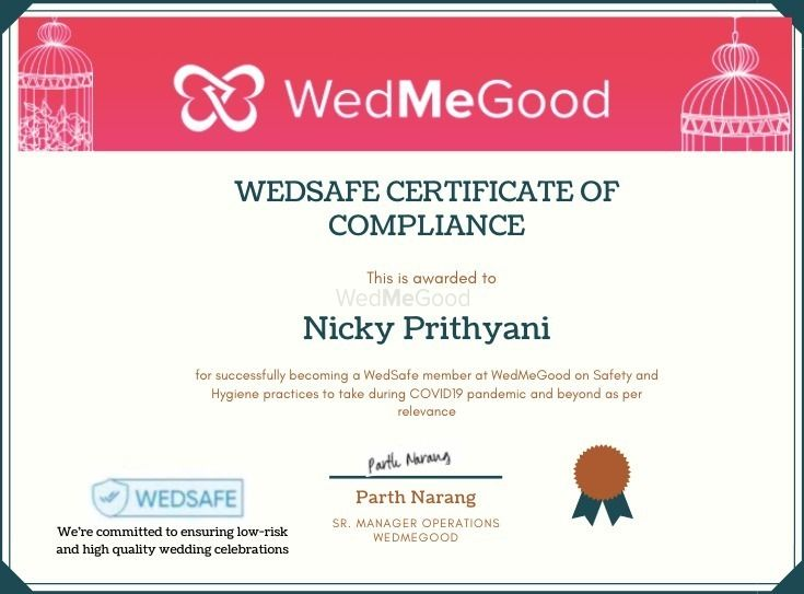 Photo From WedSafe - By Nicky Prithyani