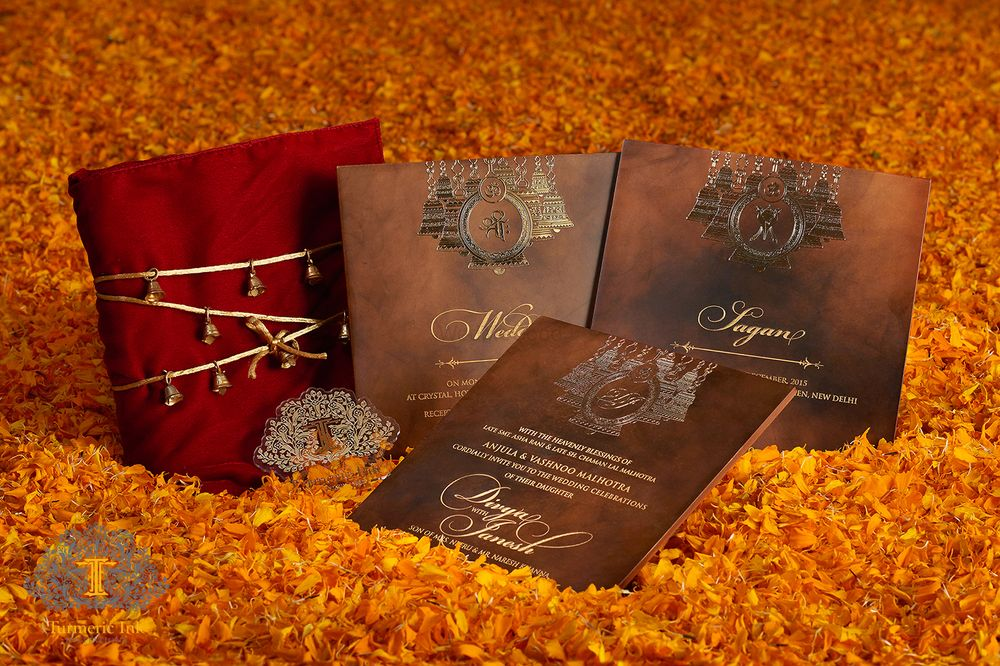 Photo From Divya & Janesh - By Turmeric Ink Invitations and Stationery