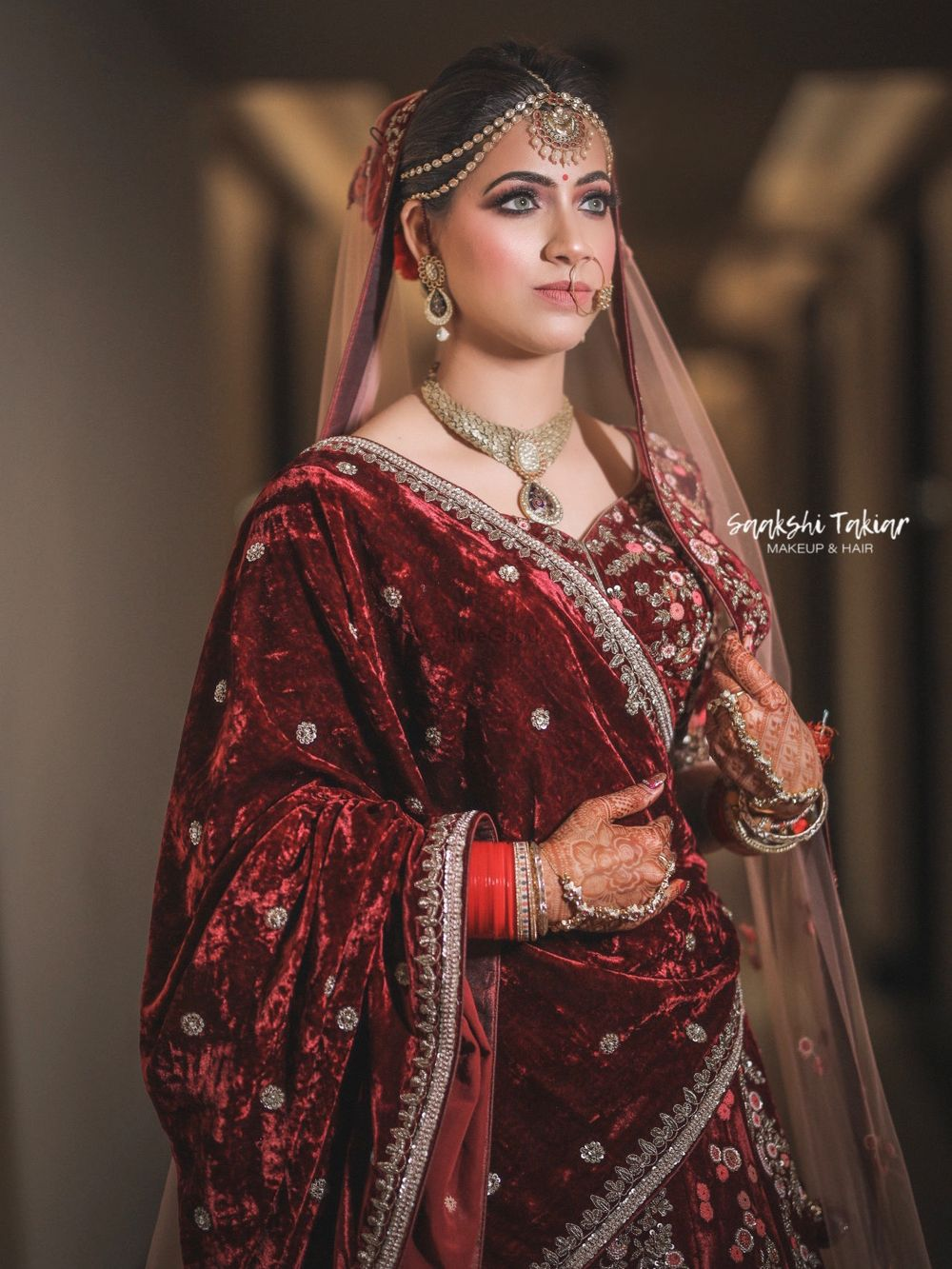Photo From Nikhita's Wedding Makeup - By Makeup by Saakshi Takiar