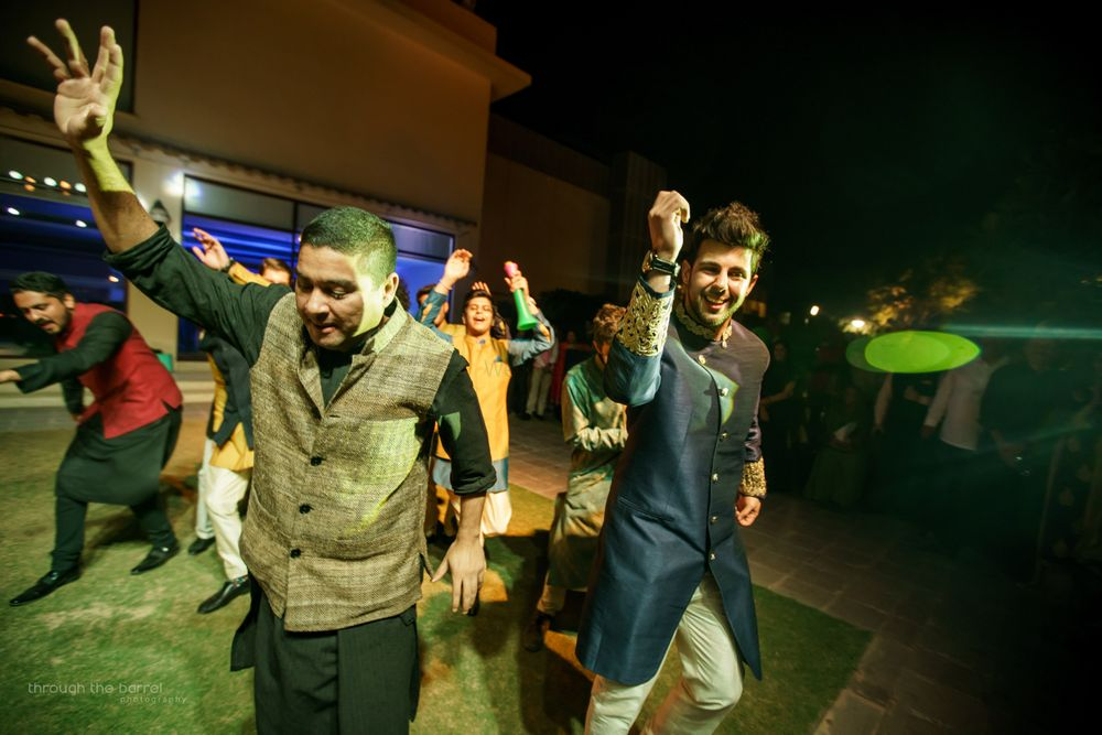 Photo From Rhea's Wedding (cocktail and haldi) - By Through the Barrel