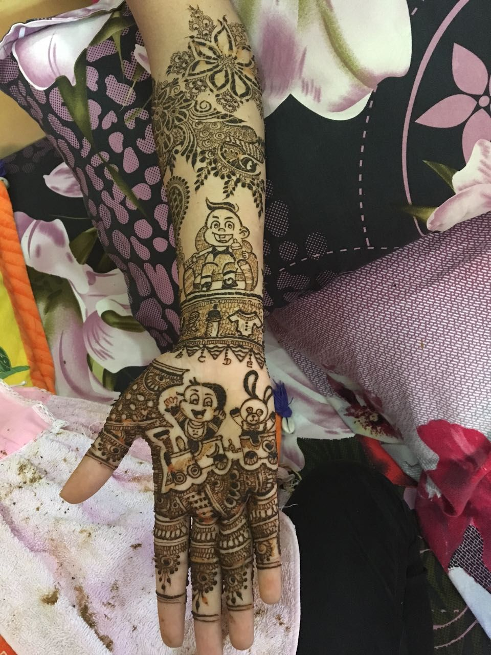 Photo From Bridal 2016-1 - By Lata Mehandi