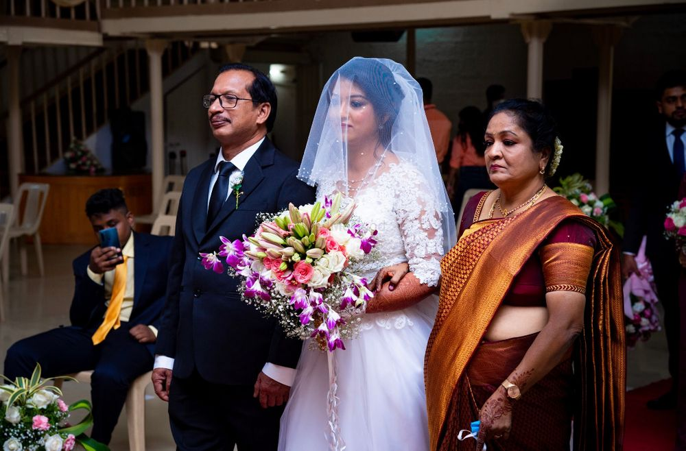 Photo From Sunith and Hannah - Church Wedding - By Flinters Management