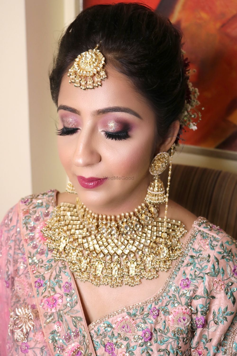 Photo From Kriti's Sagan and Wedding - By Makeup by Saakshi Takiar