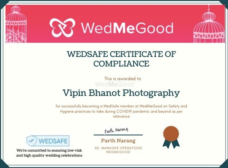 Photo From WedSafe - By Vipin Bhanot Photography
