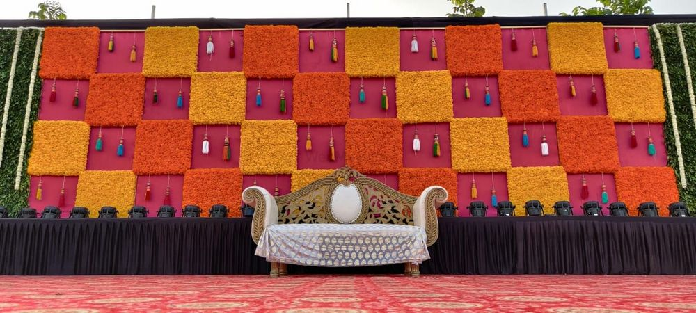 Photo From Haldi ??? - By Exotica- The Ambience Decorators & Event Management