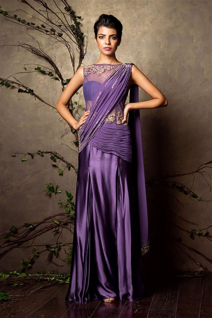 Photo of draped saree