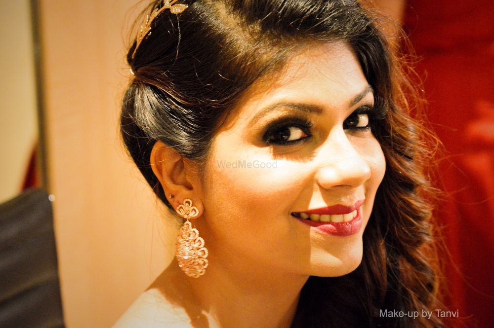 Photo From Pooja {Engagement, Vidhi & Reception} - By Makeup by Tanvi
