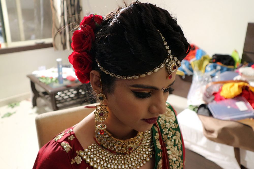 Photo From Malvika's wedding pic - By Divya Jaitly Makeup Artist