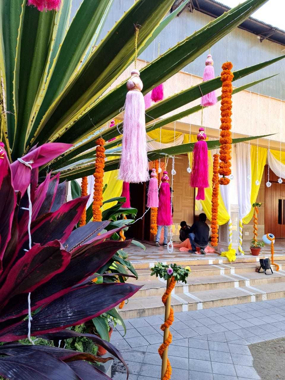 Photo From Udbhav's Haldi - By Bells N Blooms