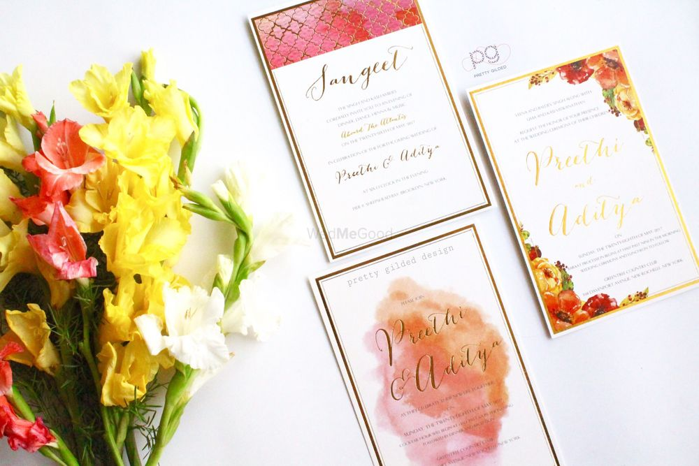 Photo From Watercolor Vibes - By Pretty Gilded Designs