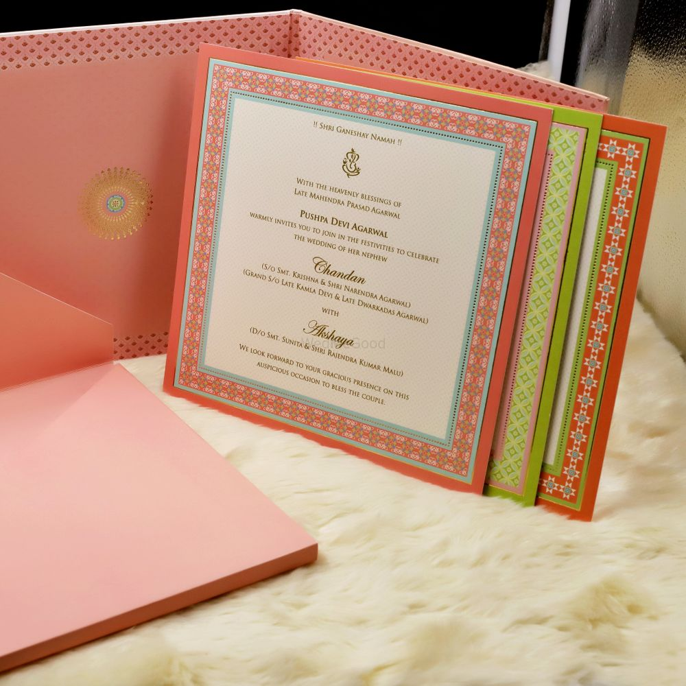Photo From premium cardboard invites @250 & above - By Indera Printers