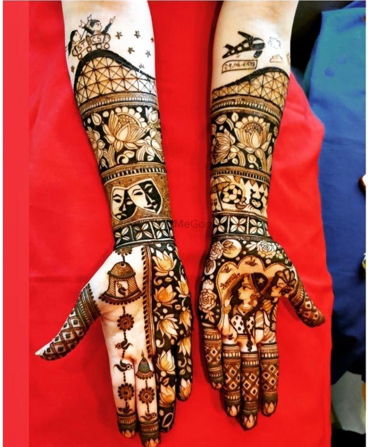 Photo From full hand Mehandi - By Ram Babu And Uday Mehendi