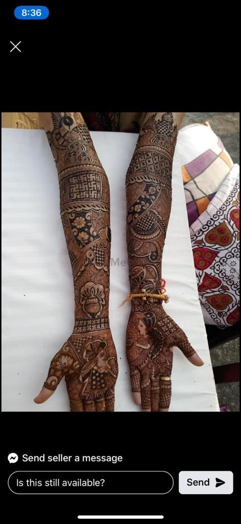 Photo From full hand Mehandi - By Ram Babu And Uday Mehendi