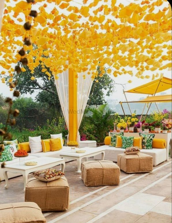 Photo From Haldi Decor - By Weddings Unveiled