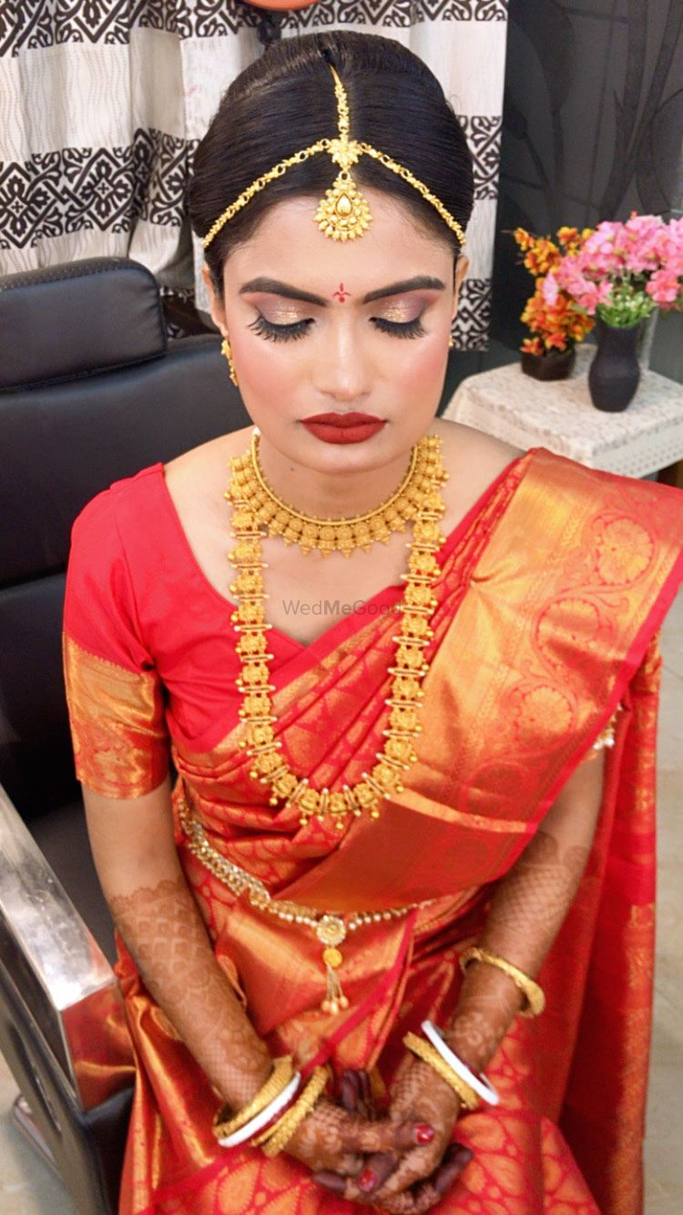 Photo From south indian wedding - By Priyankaa Chawla Makeovers
