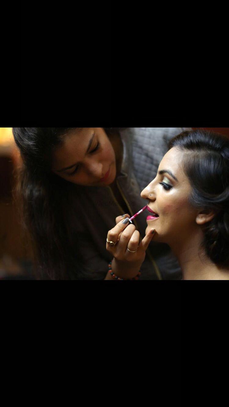Photo From Shweta Engagement Pics - By Divya Jaitly Makeup Artist